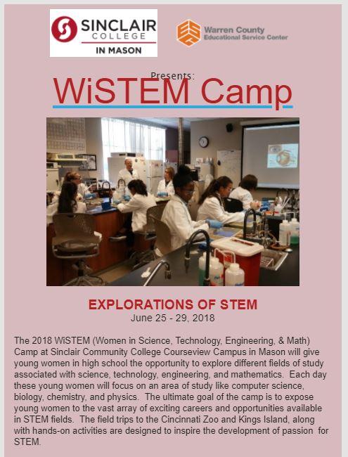 WiSTEM Camp