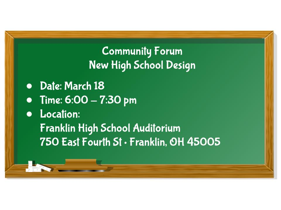 Community Forum Information