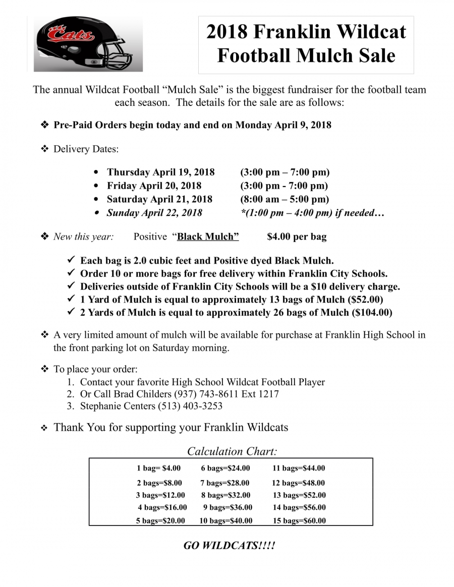 Mulch Flyer Information