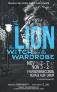 Lion, Witch, and Wardrobe poster