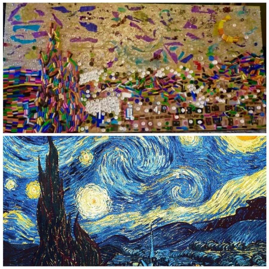 Starry Night- Recycled