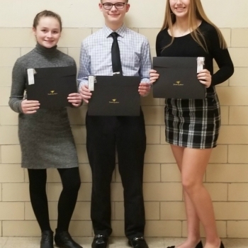 Junior High Essay Winners