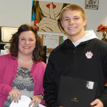 FHS Student Honored
