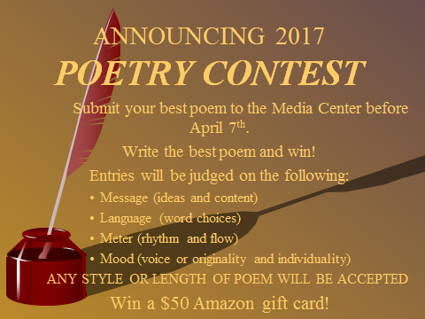 FHS Poetry Contest