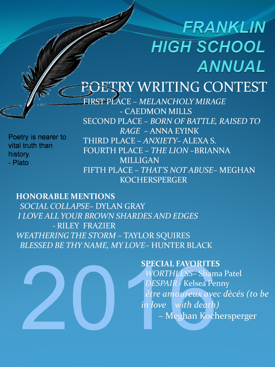 Poetry Writing Contest